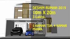 Desain Rumah Minimalis Dr Donny Di Kediri Lahan 10 X 20
