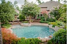 poollandschaft im garten mirror lake designs pools traditional pool houston