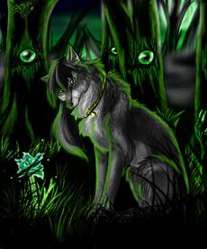 cool green wolf wallpaper midnight wolves hunters clan page 2