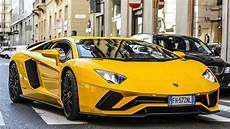 The New Lamborghini Aventador S In Milan