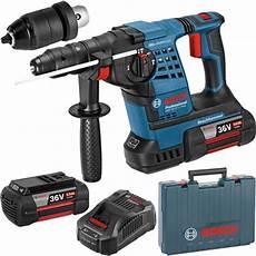Bosch Gbh 36 Vf Li Plus 36v Sds Plus Hammer Drill 2x 6ah