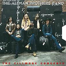 almond brothers band the allman brothers band the fillmore concerts