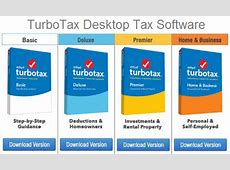 Turbotax Software 2019 Purchase Vs Quickbooks Pro 2020