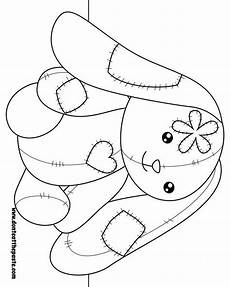 embroiderypatterns bunny coloring pages coloring