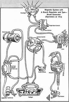 hd magneto diagram ironhead simplified wiring diagram for 1972 kick the sportster and buell motorcycle forum