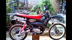 Modif Trail Jadul by Modifikasi Motor Bebek Jadul 2tak Yamaha One