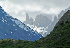 andes mountains torres del paine national park chile 1