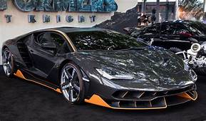 Lamborghini Centenario At The Premiere Of Transformers
