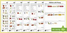 money worksheets ks2 giving change 2208 ks2 addition with money differentiated worksheets