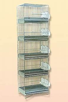 batteria di gabbie usate accessori e materiale per l allevamento