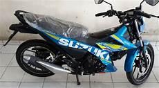 Stiker Motor Satria Fu by Jual Striping Stiker List New Satria Fu 150 Fi Warna Biru