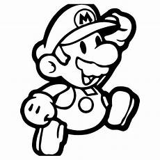Malvorlagen Mario Classic Mario Gaming 1 Vinyl Decal Sticker Mario Coloring