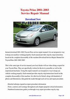 how to download repair manuals 2001 toyota prius parking system toyota prius 2001 2003 service repair manual pdf by kong hong issuu