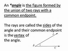 ppt honors geometry section 1 3 part 1 angles and their measures powerpoint presentation id