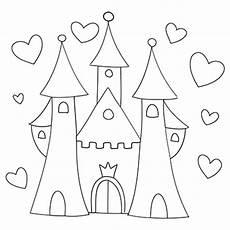 Ausmalbilder Prinzessin Schloss Kostenlos Walt Disney Schloss Malvorlage Vorstellung Ausmalbilder