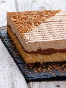 Gateau Chocolat Croustillant Praliné Chic Chic Chocolat Royal Caramel Mousse Chocolat Au