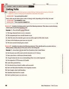 verb worksheets grade 6 19102 linking verbs worksheet for 6th 8th grade lesson planet