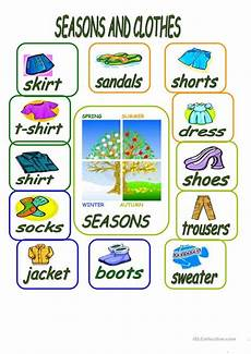 seasons worksheets islcollective 14809 seasons and clothes worksheet free esl printable worksheets made by teachers а уроки