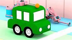 4 Kleine Autos - lehrreicher zeichentrickfilm die 4 kleinen autos wir