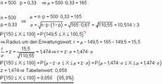 berechnung umgebungswahrscheinlichkeiten mathe brinkmann