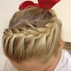 cool cheer hairstyles cheer hair or just a cool pony hair do s pinterest
