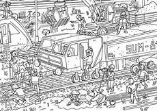 Malvorlagen Baustelle Ausdrucken Ausmalbild Oli Auf Der Baustelle Olis Bahnwelt