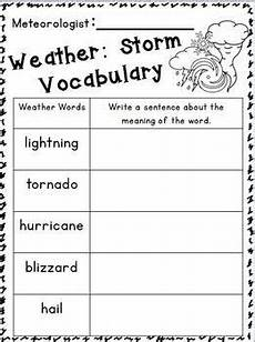 weather unit weather science second grade science teaching science