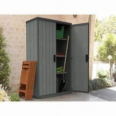 armoire de jardin r 233 sine gris l 80 5 x h 185 x p 138 cm