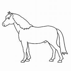 kostenlose malvorlage bauernhof ausmalbild pferd zum