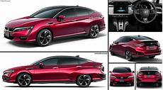 Honda Clarity Fuel Cell 2016 Pictures Information Specs