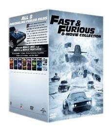 Fast The Furious 1 8 Dvd Tv Raru