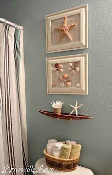 seashell bathroom decor ideas lewisville theme bathroom reveal looks like what i am tryng to do with my bathroom