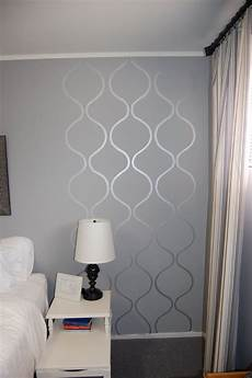 bathroom wall stencil ideas 2 50 silver craft paint stencil stencil a small area i can do that bathroom bedroom