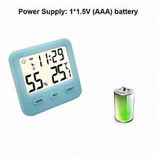 Bakeey Electronic Temperature Humidity Multifunctional Charging bakeey electronic digital temperature humidity meter high