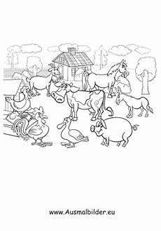 Ausmalbilder Bauernhof Mit Tieren Ausmalbilder Bauernhof Bauernhof Malvorlagen