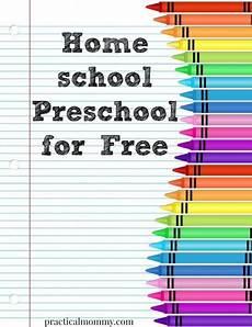 homeschool preschool for free