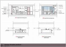 Kitchen Plan Elevation And Section by Dining Table Plan Elevation Section Pdf Woodworking