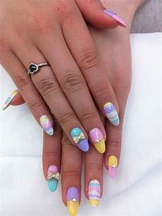 15 cute nail designs for long nails pretty designs