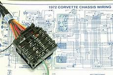 1972 Corvette Wiring Harnes Diagram by 1972 Corvette Project Car Dash Wiring Harness