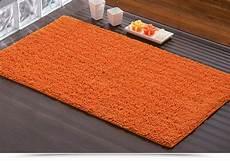 tappeti x bagno tappeto gedy da bagno arancione cotone 100 70x120 cm tiziano