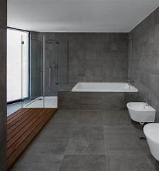 Palette Profile A Gray White And Wood Bathroom By