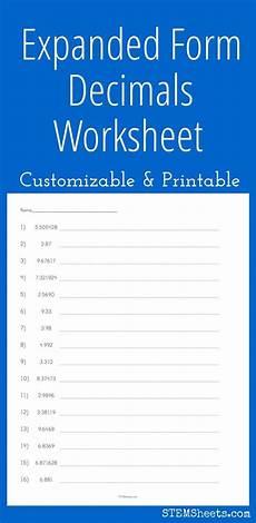 decimal worksheet expanded form 7113 128 best images about math stem resources on money worksheets printable