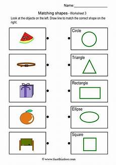 shapes worksheet matching 1179 printable 3d shapes work sheet cuting and gluing worksheet click matching object with