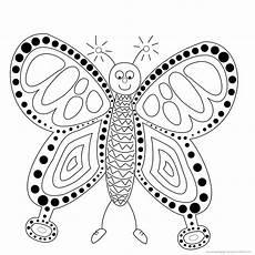 Ausmalbilder Schmetterling Pdf Kostenlos Raupe Schmetterling Ausmalbilder Malvorlagen Coloring