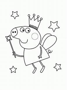 free peppa pig coloring pages coloring home