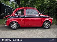a fiat 500 abarth classic car stock photo royalty free