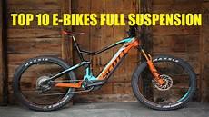 top 10 best e bikes suspension