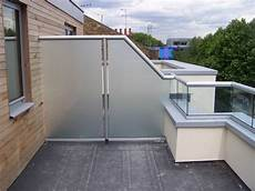 balcony balustrades and glass privacy screens