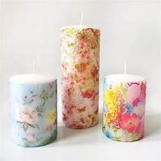 decoupage candele make create decoupage candles that s so gemma