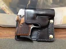 derringer cavalry flap holster for american arms pug 22 caliber derringer full buckskin